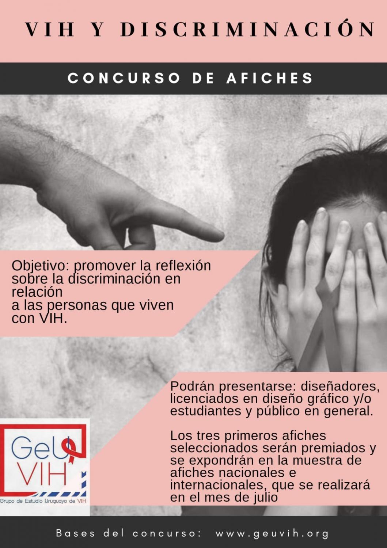 Afiche Concurso - GEUVIH