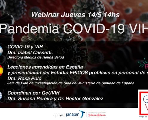 Webinar COVID 19 y VIH