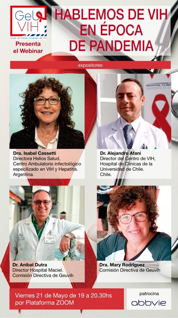 Webinar Hablemos de VIH en época de Pandemia